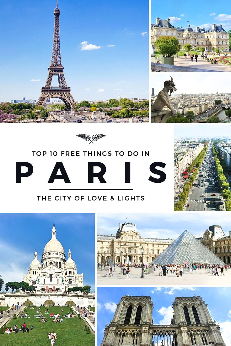 Have Fun In Paris With Free Attractions